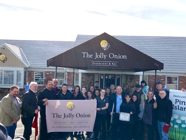 Jolly Onion Ribbon Cutting