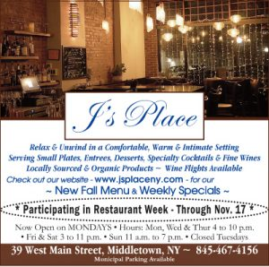 J's Place - Fine Casual Dining in Middletown NY