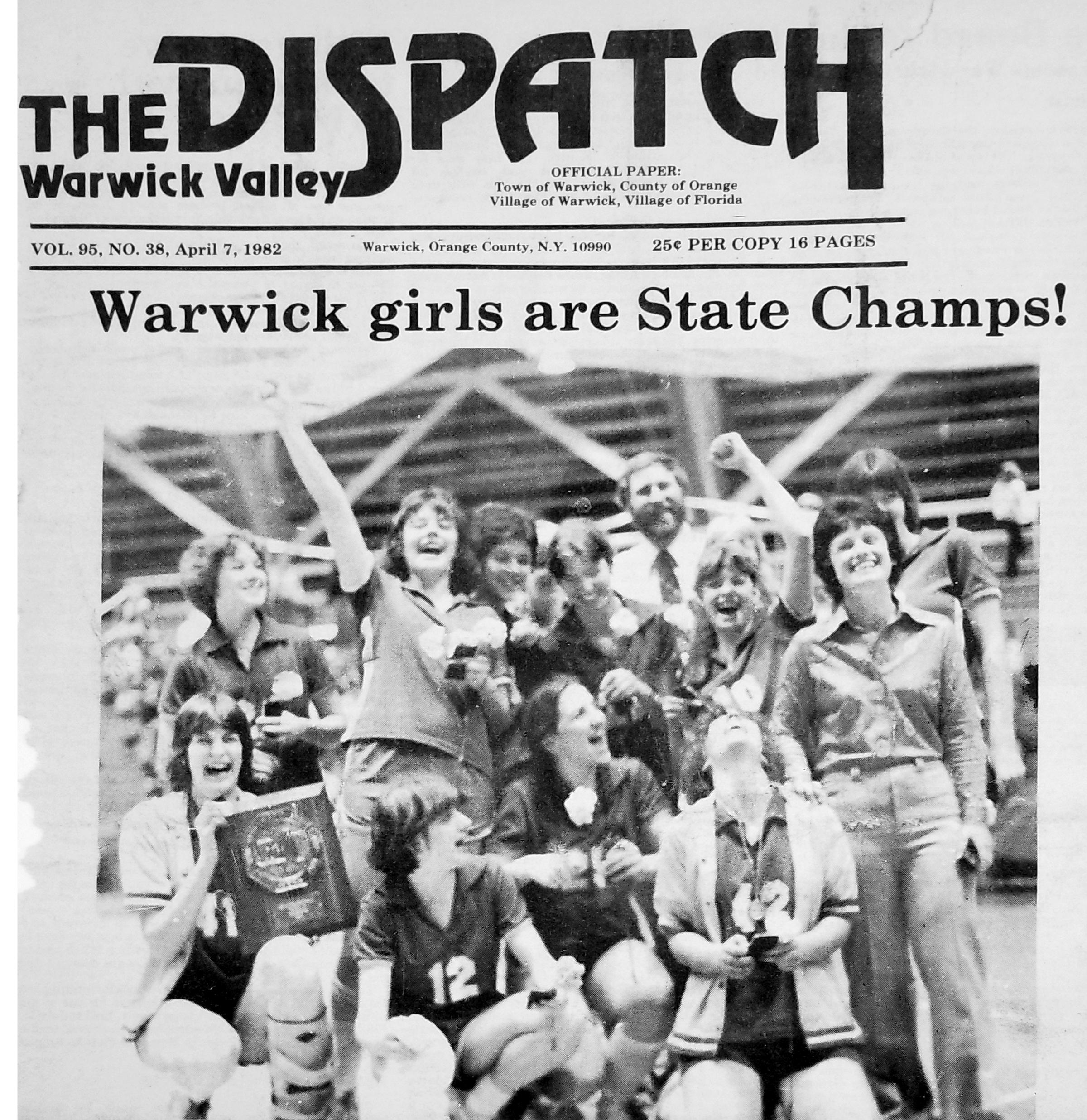 1982 Girls Basketball