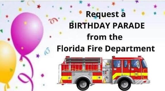 Florida FD Birthday Party