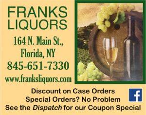 Frank's Liquors - Florida NY