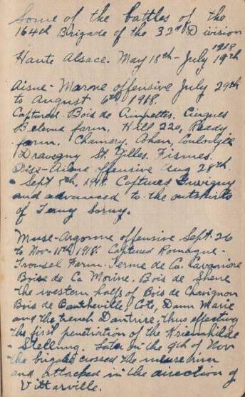 Robert Henry Walker Diary_PageExtract