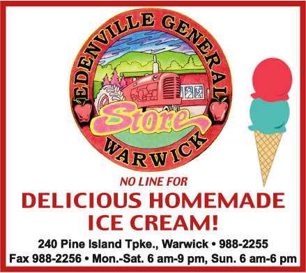 Edenville General Store - Delicious Homemade Ice Cream In Edenville, NY!