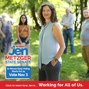 Jen Metzger for New York State Senate - Working for all of us.