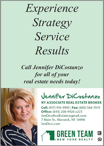 Jennifer Dicostanzo - Green Team Realty Warwick NY